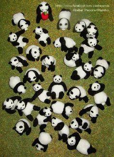 いよいよ明日はデザフェスです。 |羊毛フェルト作家Makikoの癒しパンダ