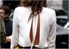 Shop from the best fashion sites and get inspiration from the latest black and white blouse. Fashion discovery and shopping in one place at Wheretoget. Looks Street Style, Looks Style, Style Me, Beige Outfit, Do It Yourself Fashion, Dress Vestidos, Dresses, Fashion Beauty, Womens Fashion