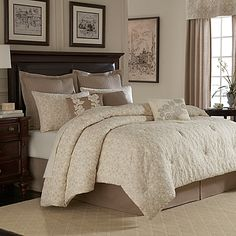 Royal Heritage Home® Sonoma Duvet Cover in Ivory