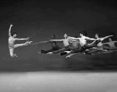 """American Ballet - """"Fencing"""" American Ballet Theatre Stage, NYC by Norwegian photographer John Andresen #photography #ballet"""