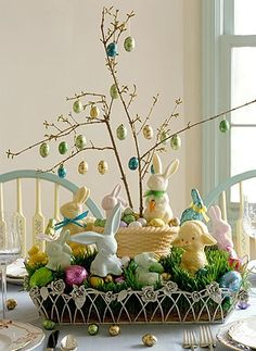 Festive Easter decorating