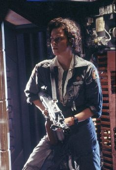 Can't hardly believe it, this movie made 33 years ago!  Still of Sigourney Weaver in Alien
