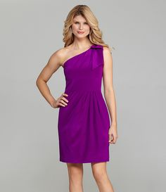 Antonio Melani Dianna One-Shoulder Dress | Dillards.com