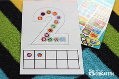 All About the Numbers 0-20! Fine motor number mats!