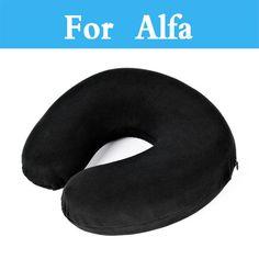 U Shaped Slow Rebound Memory Foam Neck Pillows Headrest For Alfa GTV MiTo Spider Volante Giulietta GT Romeo Disco