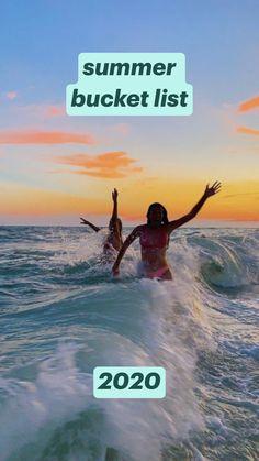 summer bucket list         2020
