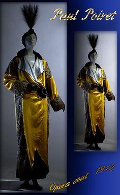 1912 Opera coat, Paul Poiret