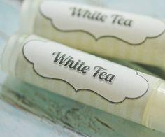 White Tea Balm Tube by OhYum on Etsy, $2.50