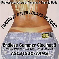 Endless Summer Cincinnati - Tanning & Hair Salon in Cincinnati, OH Beach Glow, Airbrush Tanning, Tanning Bed, Salon Services, Tan Skin, Cincinnati, Healthy Skin, Victoria Secret Pink, Skin Care