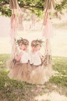 ❀ Fanciful Flower Girls ❀ dresses & hair accessories for the littlest wedding attendant :-)