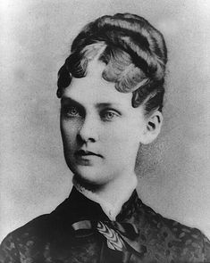 Alice Hathaway Lee Rooselvelt, first wife of President Theodore Rooselvelt