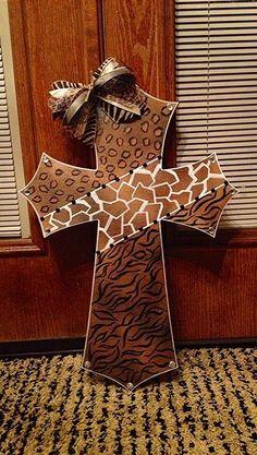 DIY painted cross