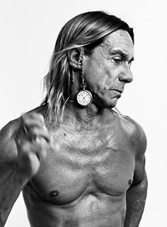 Iggy Pop (born James Newell Osterberg, Jr.; April 21, 1947) is an American singer, songwriter, musician, and actor.[1] Though widely known as an innovator of punk rock,[1] Pop's music has encompassed a number of styles over the years, including pop, hard rock, jazz and blues. He is vocalist of influential protopunk band The Stooges. Pop and the other surviving members of the group reunited in 2003, but he alone by himself  still is Living On The Edge™