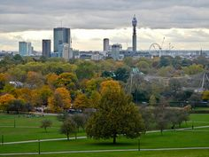 Bring a picnic to Regent Park and enjoy the views from the top of Primrose Hill.