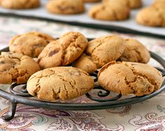 Coffee Choc-Chip #Biscuits! An old favourite with a twist!