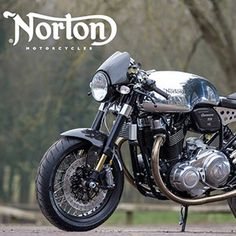 A limited edition Norton Dominator SS model motorcycle. Photo courtesy Norton