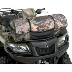 MOOSE AXIS RACK BAGS Quality cargo system with riveted straps and carrying handles adds true functionality to your ATVRigid bag mounts easily to your ATVs front or rear rack