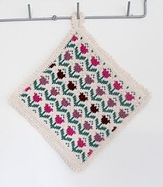 Knitwear Fashion, Fair Isle Knitting, Pot Holders, Embroidery, Crochet, Pattern, Inspiration, Knits, Mandala