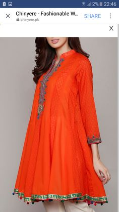 Fashion For Toddlers Girl Pakistani Dress Design, Pakistani Dresses, Indian Dresses, Formal Dresses For Teens, Casual Dresses, Dresses For Work, Frock Fashion, Fashion Dresses, Women's Fashion