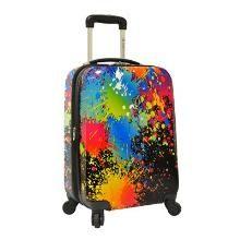 Paint Splatter Spinner Luggage