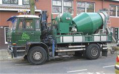 DAF 2100 FA 2105 DH 365, cementmixer, 4-11-1986 wel   een veelzijdige truck zo.