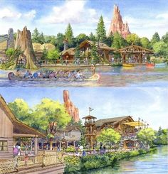 New restaurant and Meet and Greet facility, Tokyo Disneyland