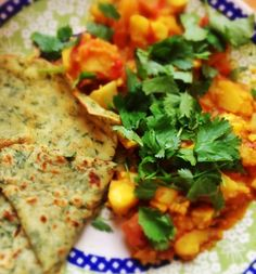 GOBI PALAK & COCONUT DOSA INDIAN FOOD RECIPE - Gluten free with Emily