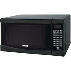 Rca .7 Cubicft Microwave Black. $85.49 +FREE Shipping  700w, LED Display, Digital Kitchen Timer, Six 1-touch Cooking Menus, 10 Power Levels, Auto Defrost, Express Cooking, Digital Clock, Removable Glass Turntable, Black