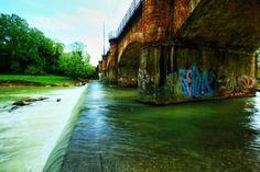 Obiettivo Pesaro: il ponte sul fiume Foglia http://vivere.biz/acCm