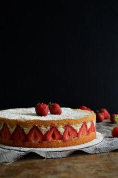 Fraisier Torte | Pass the Cocoa