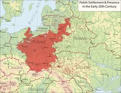Polish settlement and presence in Europe in the Early 20th Century