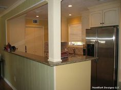 kitchen pass through ideas | GALLEY KITCHEN REMODEL IDEAS - KITCHEN DESIGN PHOTOS