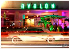 Avalon Hotel - Miami by night. #photography #mywork