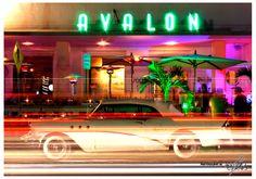 Avalon Hotel - Miami by night. #photography #mywork