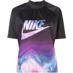 Nike patterned logo print T-shirt