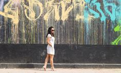 Scorching temperatures call for a  LWD Read more on www.amillionbucks.in  Image courtesy @pallaviarora2012   summerstyle  streetstyle  fblogger  shoes  ootd  lookbook  lookoftheday  outfitoftheday  musthave  summertrends  fashionpost  stylefile  chic  style  fashiondiaries  fashion  fashionblog  fashionblogger  fashionaddict  indianfashionblogger  dailylook  instastyle  instalook  mycloset  instagrammers  cordset  matchmuch wallart streets painting white dress