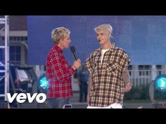 Justin Bieber - What Do You Mean? (Live From The Ellen Show) - YouTube