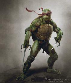 TMNT Teenage mutant ninja turtles concept 10