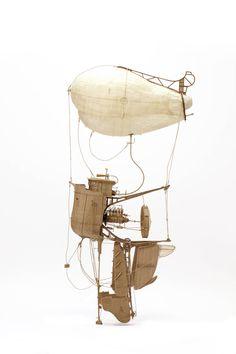 Meticulous Cardboard Flying Machines