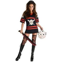 Miss Voorhees Jason Costume Friday the 13th Halloween Fancy Dress  $38.99  $79.29  (1 Available) End Date: Nov 012016 07:59 AM GMT-07:00