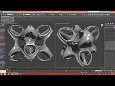 3D Tutorial | Octo-Star Sculpture | 3dsmax