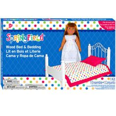 Springfield Collection® Wood Bed & Bedding Kit