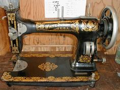 white treadle sewing machine worth
