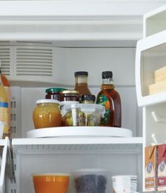organize 16 Easy Kitchen Organization Ideas and Tips with Pictures! Lazy-Suzan in the fridge?! GENIUS!