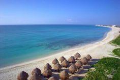 El Now Jade Riviera es un complejo de lujo todo incluido se encuentra en una playa privada en Puerto Morelos, ofrece una escuela de tenis... #Cancun #Mexico #Hoteles
