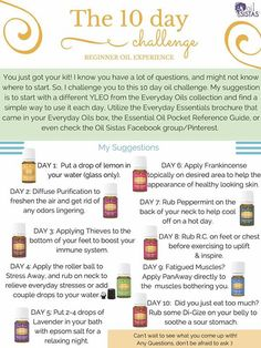 Young Living 10 Day starter kit challenge