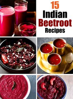 This is an amazing collection of 15 Indian beetroot recipes which includes side dishes, sabzis and sweets. beetroots are rich in iron, calcium and minerals and there are various ways you can include them in your meals.
