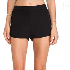 Theory Silk Nadrea Shorts in Black Brand new with tags! Theory Shorts