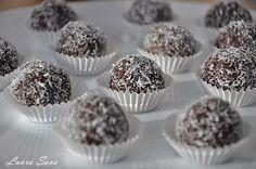Bile de ciocolata cu nuca de cocos