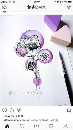 Cool Tattoos, Tattoo Ideas, Instagram, Color, Ideas, Flowers, Colour, Coolest Tattoo, Nice Tattoos